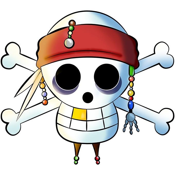 T shirt enfant fille parodies manga le drapeau pirate - Jeux de jack et les pirates ...