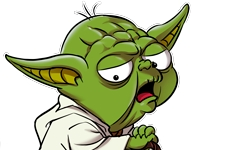 Humour - Parodie Yoda et Luke Skywalker de Star Wars