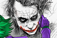 Comics - Parodie du Joker de Batman