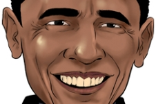 Caricature Stars - Barack OBAMA