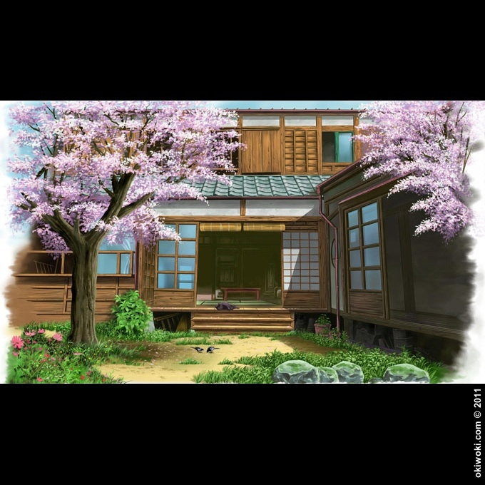 sacs tudiant canvas japon tradition maison traditionnelle japonaise. Black Bedroom Furniture Sets. Home Design Ideas