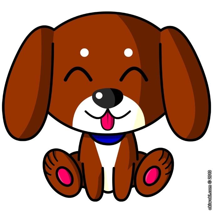Stickers D 233 Co Kawaii Baby Dog Vol 5