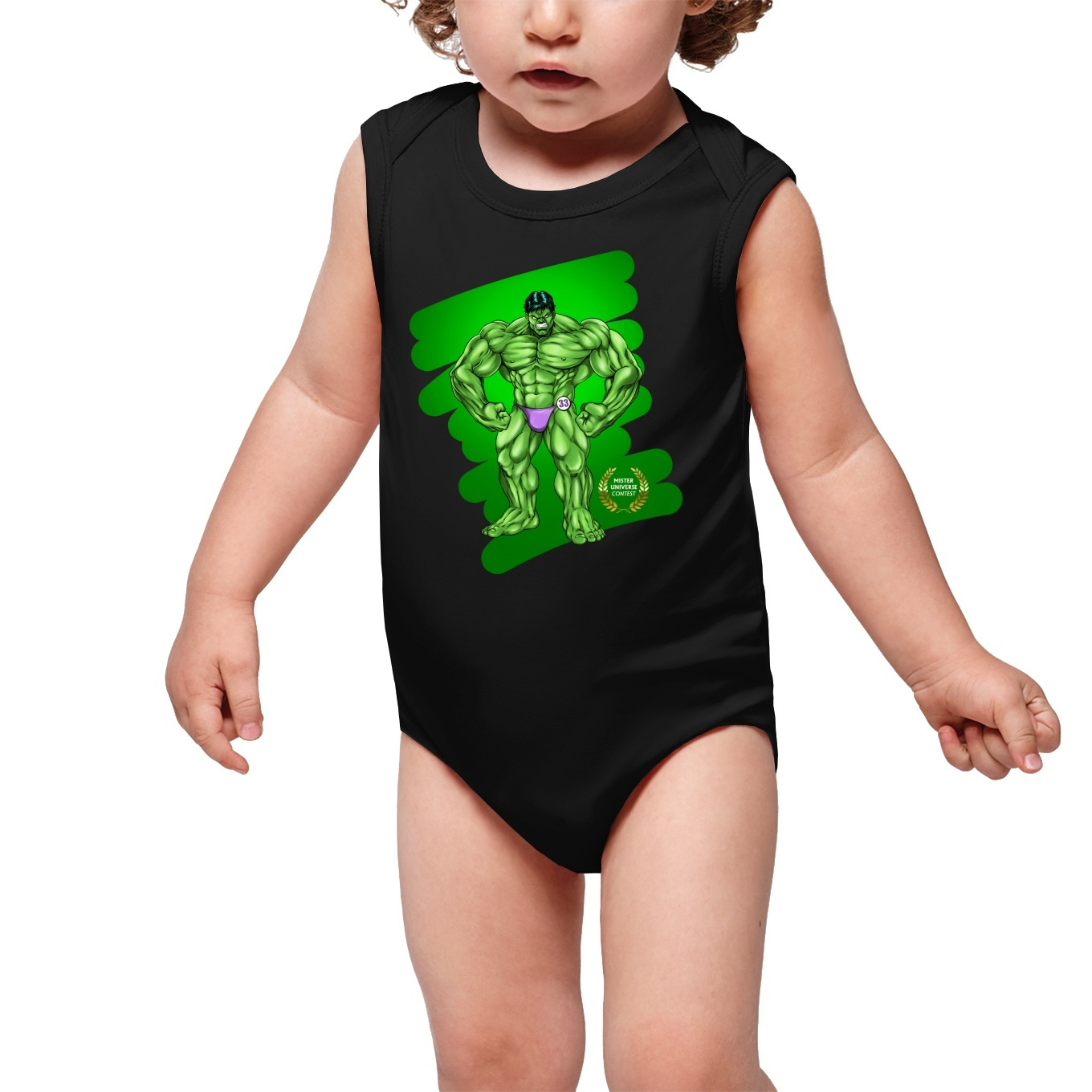 Sleeveless Baby Bodysuits Manga Parodies