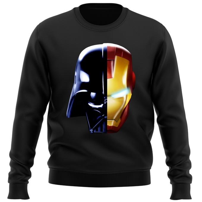 super popular 2922b 47190 Darth Vader, Iron Man and Daft Punk. Sweater · Cinema Parody