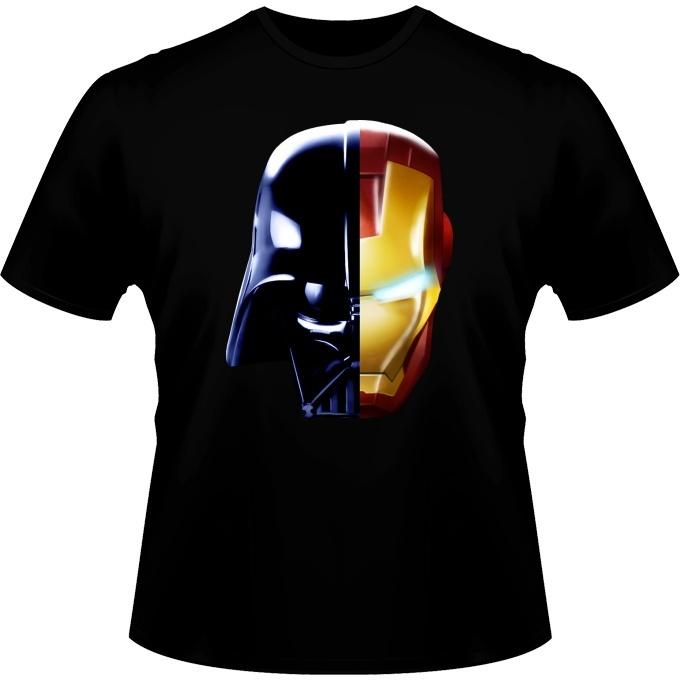 27778d3f Funny Star Wars - Iron Man T-Shirts - Darth Vader, Iron Man and Daft Punk ( Star Wars - Iron Man Parody)