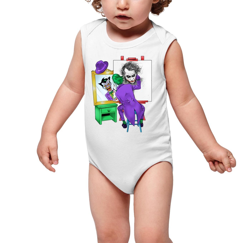faa947f879397 Body bébé Batman parodique Le Joker : Drôle d'Autoportrait :) (Parodie  Batman)