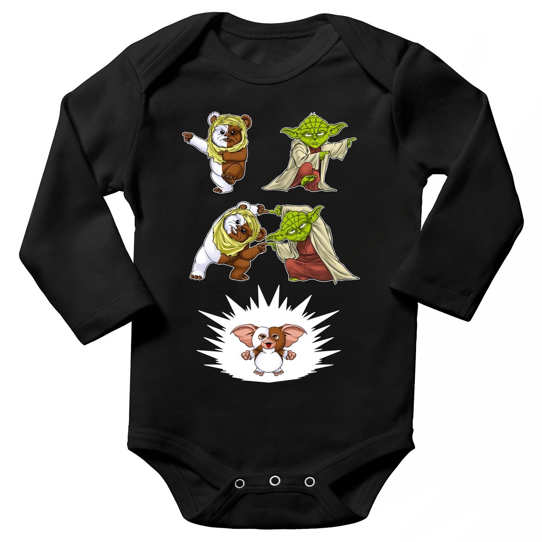 Long sleeve Baby Bodysuits Movies Parodies