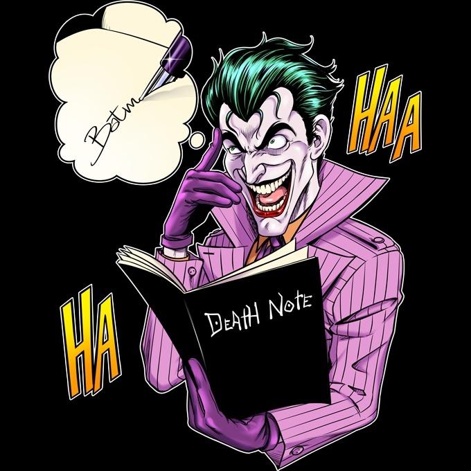 mode de luxe grande qualité mieux choisir Casquette Pokémon parodique Le Joker de Batman et le Death Note : Le Joke  Note... (Parodie Pokémon)