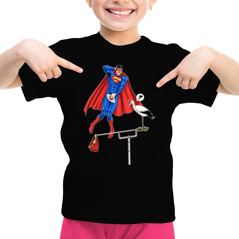 477b066c Funny Superman Girls Kids T-shirt - Superman - The Man of Steel ...