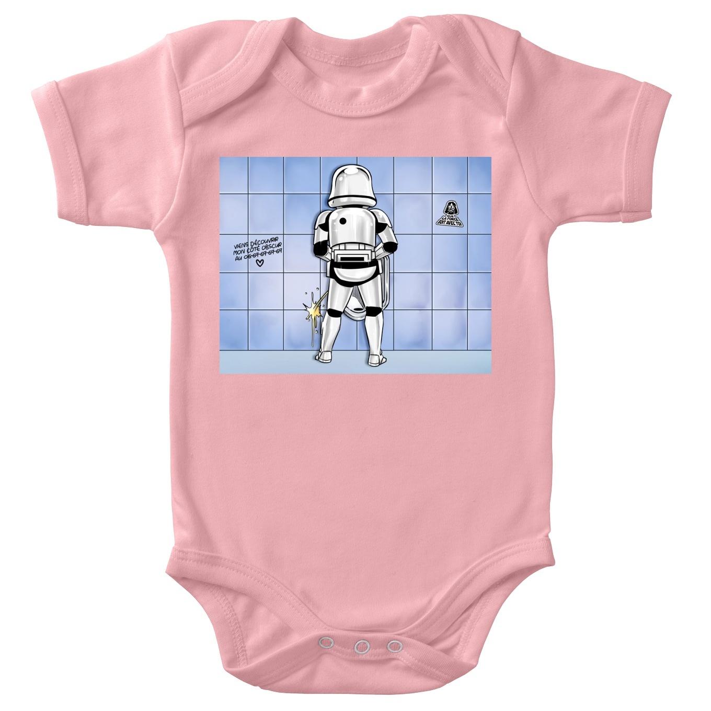 Short-sleeved baby bodysuit (Girls) Movies Parodies