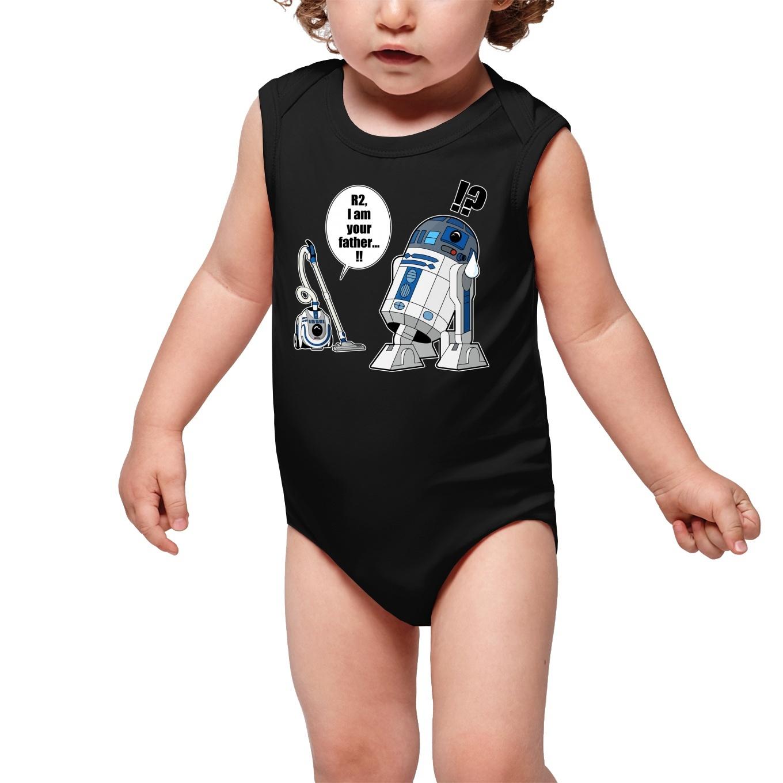 Sleeveless Baby Bodysuits Movies Parodies