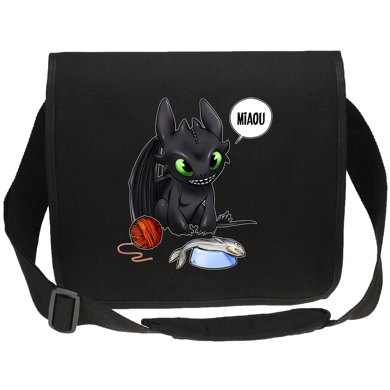 Canvas Messenger Bags Movies Parodies
