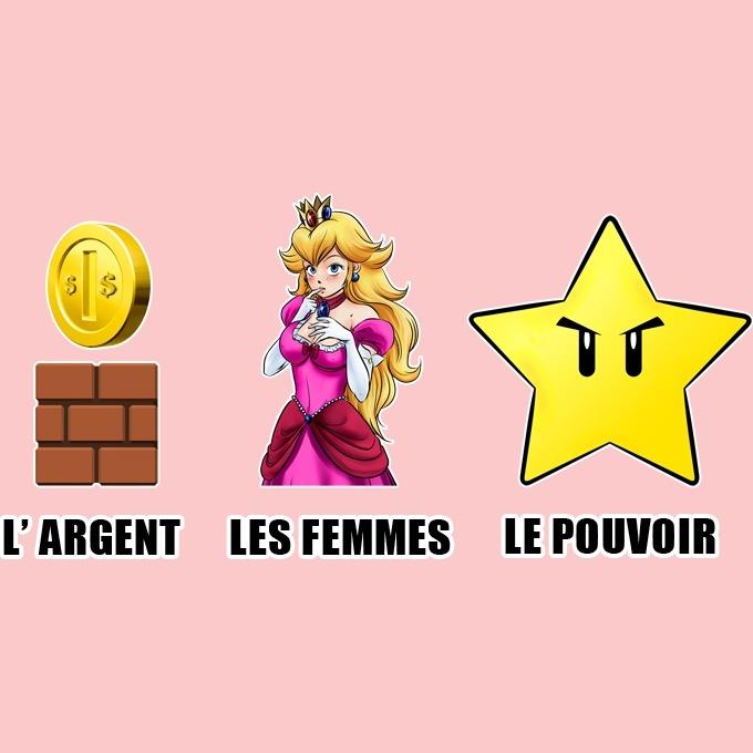 Princesse Peach Okiwoki Body b/éb/é Manches Courtes Filles Rose Parodie Super Mario Une Garde-Robe de Princesse.!?/ Body b/éb/é de qualit/é sup/érieure - imprim/é en France
