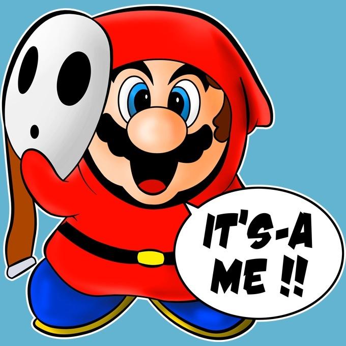 Funny Mario Baby Bodysuit Mario And Shy Guy Mario Parody Ref595