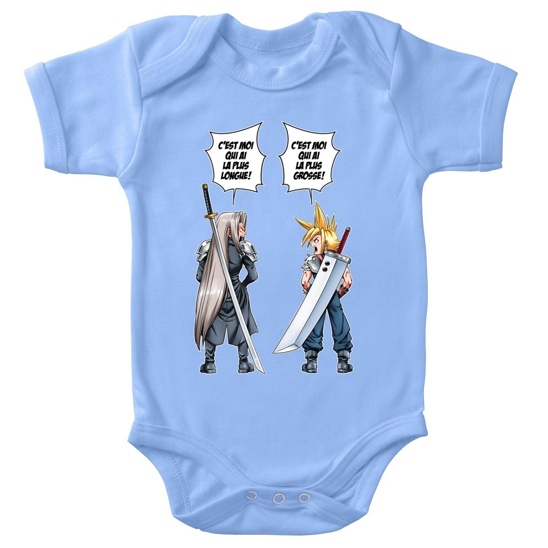 Short-sleeved baby bodysuit (boys) Video Games Parodies