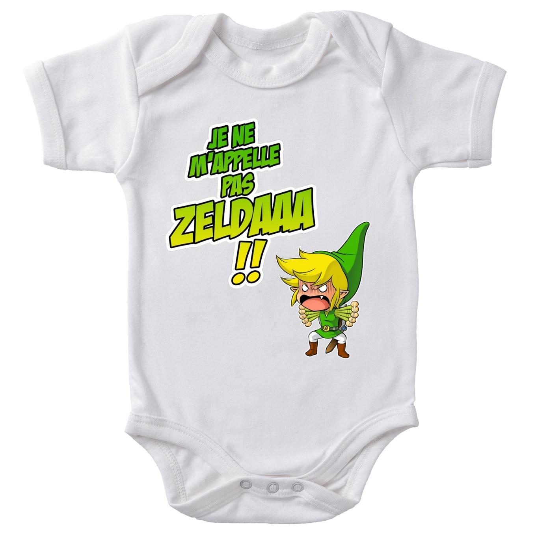 Short sleeve Baby Bodysuits Video Games Parodies