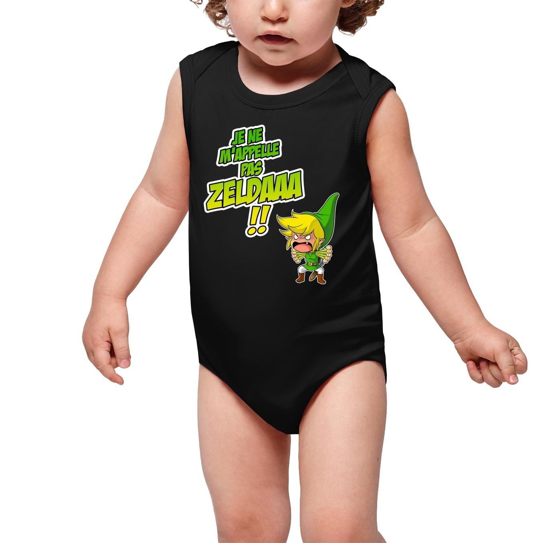 Sleeveless Baby Bodysuits Video Games Parodies