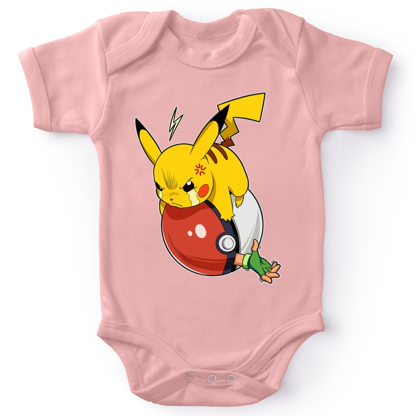 Short-sleeved baby bodysuit (Girls)