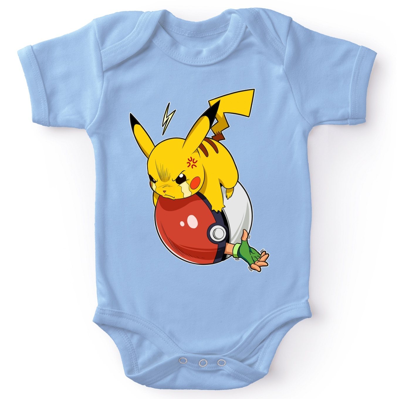 Short-sleeved baby bodysuit (boys)