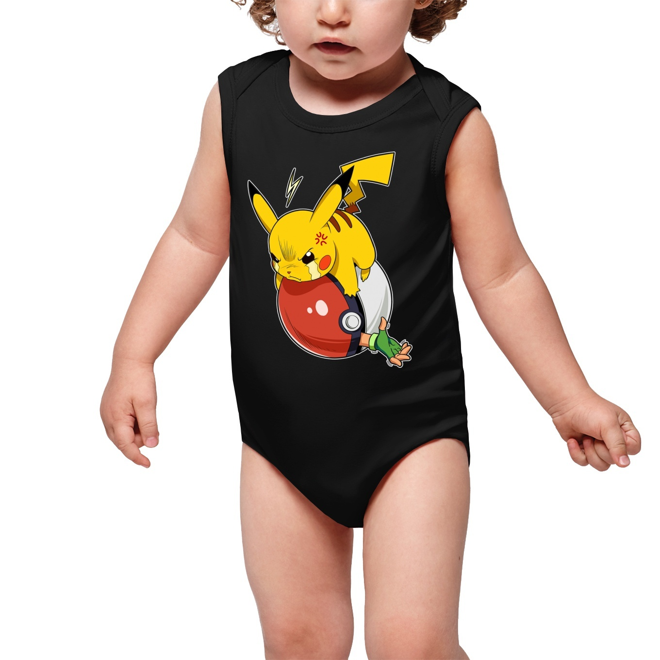 Sleeveless Baby Bodysuits