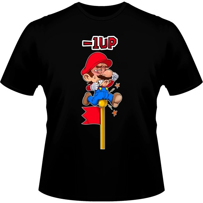 T-shirts Hommes - 1 UP !!