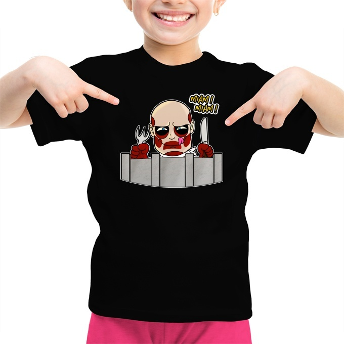 Con Colossale Giganti T Dei L'attacco Umoristico Il Shirt Titano ZikXPu