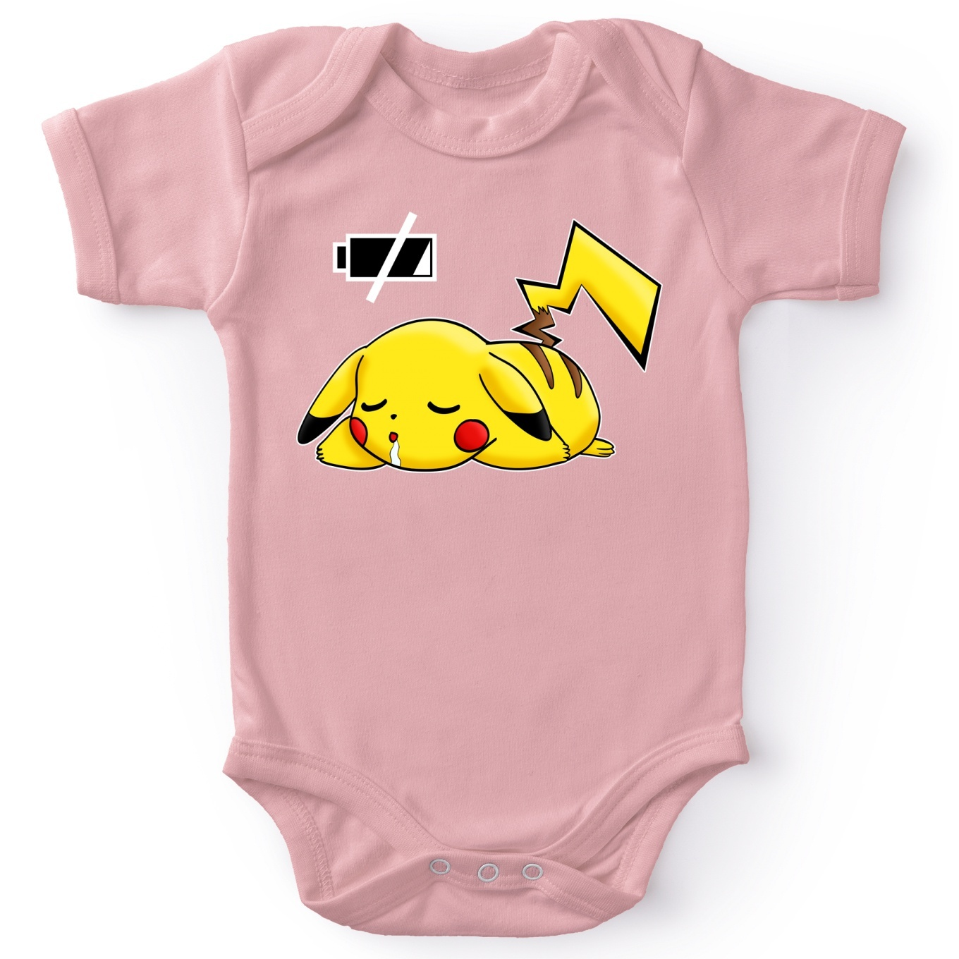 Short-sleeved baby bodysuit (Girls) Video Games Parodies