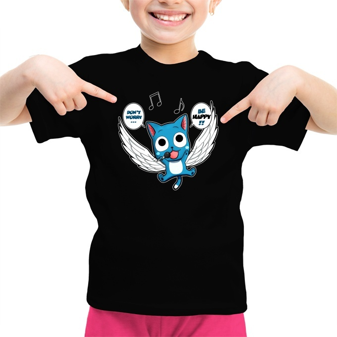 Dont Worry Parodie Fairy Tail Okiwoki Pull Noir Fairy Tail parodique Happy Be Happy !!