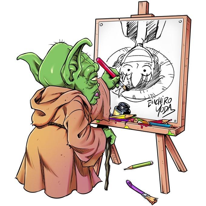 Eiichiro Yoda : Du dessin, il est le maître !