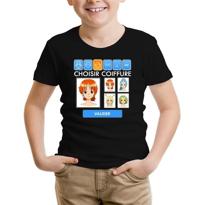 T Shirts Dbz One Piece Et Naruto Parodique Nami Et Vivi