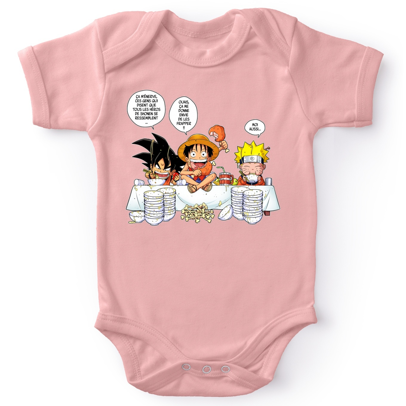 Short-sleeved baby bodysuit (Girls) Manga Parodies