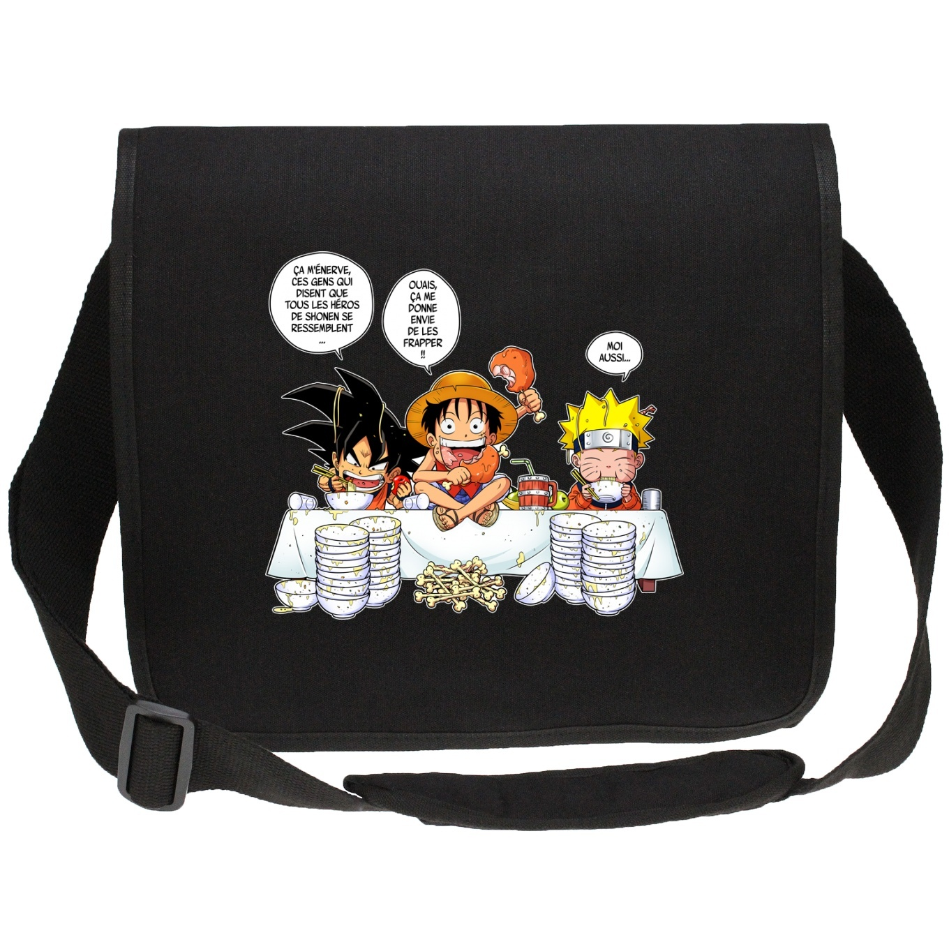 Canvas Messenger Bags Manga Parodies