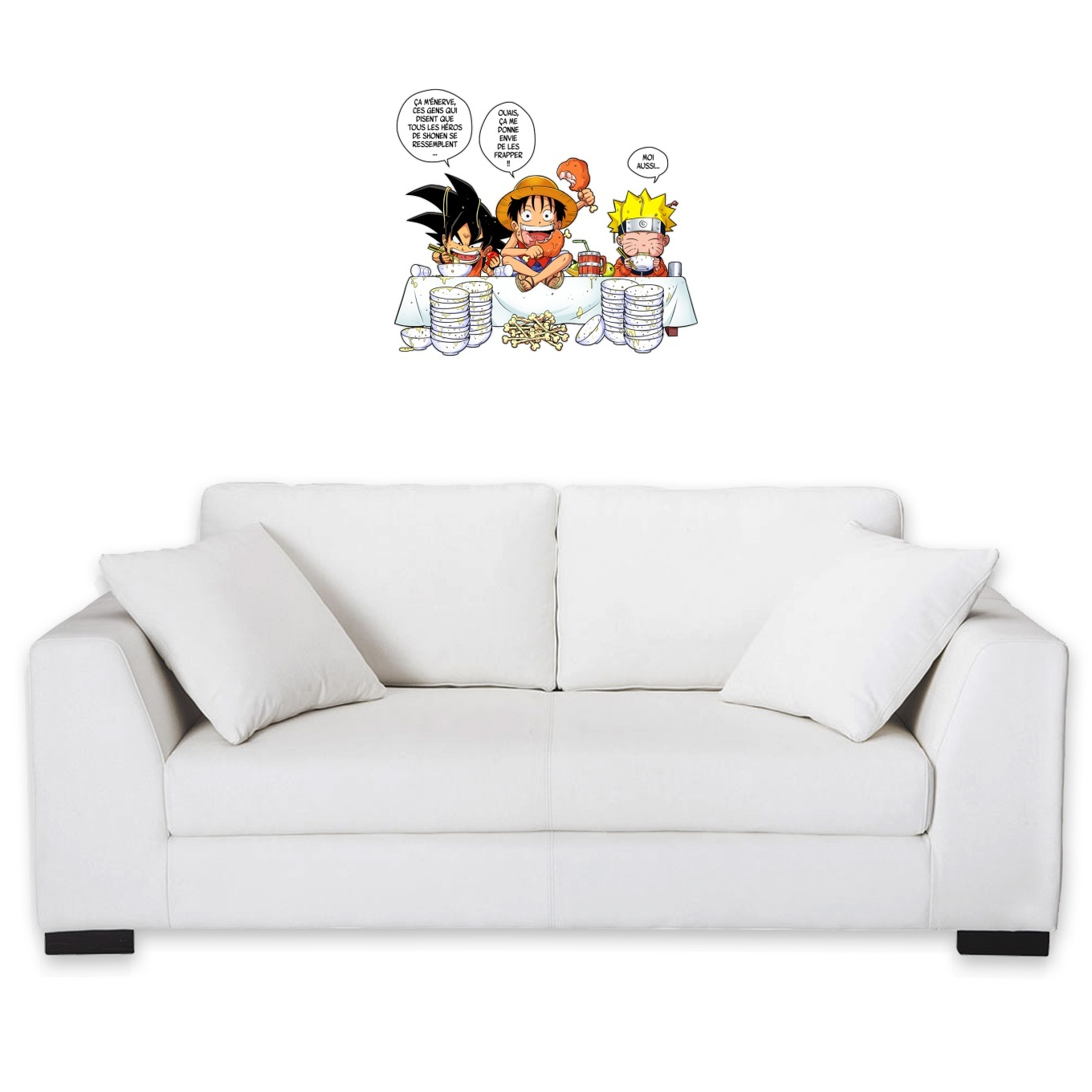 Wall Stickers Manga Parodies