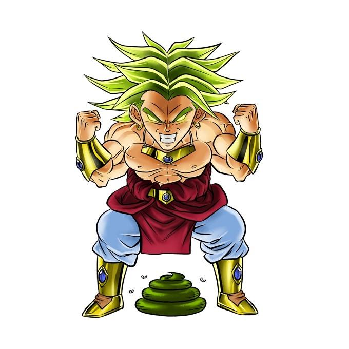 Mugs Dragon Ball Z - DBZ parodique Broly le guerrier ...