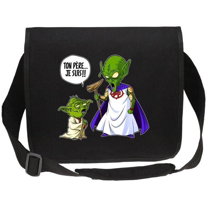 Parodie Dragon Ball Z - Star Wars T-Shirt b/éb/é Noir Dragon Ball Z Star Wars parodique Yoda et Le Tout Puissant : Ton p/ère !! Je suis