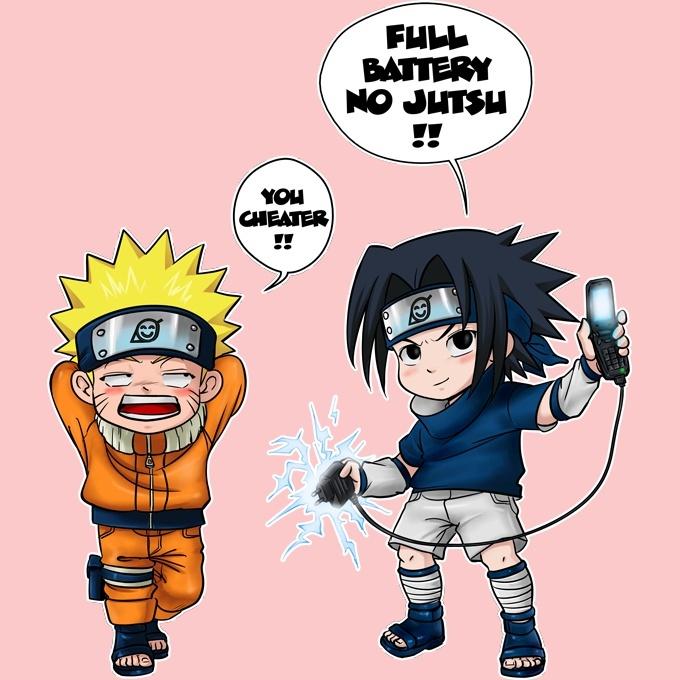 Funny Naruto Baby Bodysuit Baby Girls Sasuke Naruto Parody Ref761