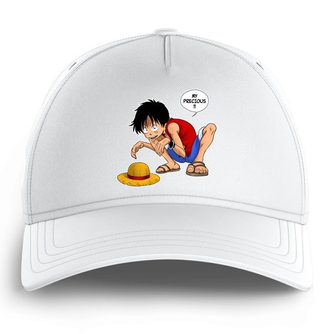 Funny One Piece Kid Cap Monkey D Luffy And Gollum One Piece Parody Ref 744