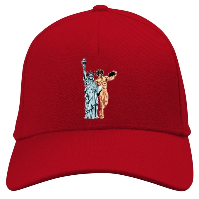 Funny Attack On Titan Cap Eren Yeager And Statue Of Liberty Attack On Titan Parody Ref 1122