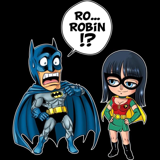 d bardeurs one piece batman parodique batman et robin une quipe de choc parodie one. Black Bedroom Furniture Sets. Home Design Ideas