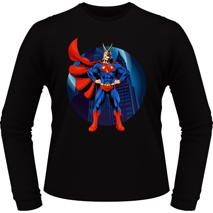T-Shirts manches longues Super AllMight man :)