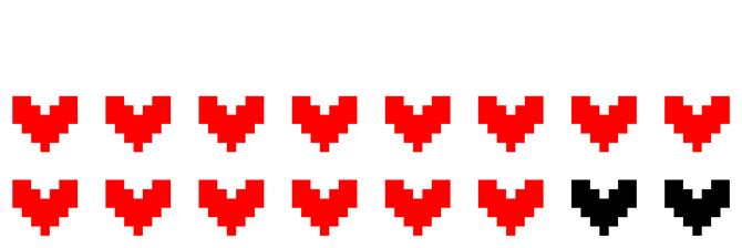 T-shirts Jeux Vidéo Pixel parodique Pixel Design : Life (Parodie Jeux Vidéo Pixel)