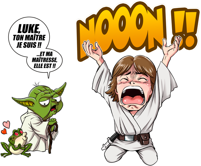 Luke Life Episode IV : le Maître...