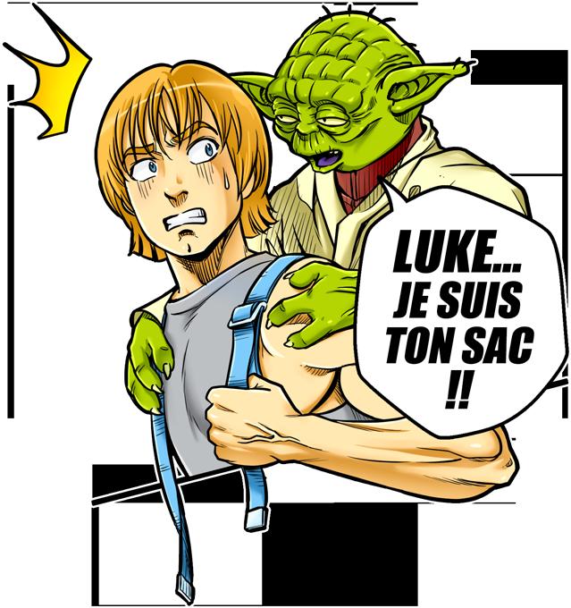 Luke... Je suis ton sac !!