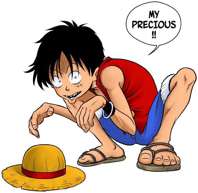 Luffy and Gollum - My Precious