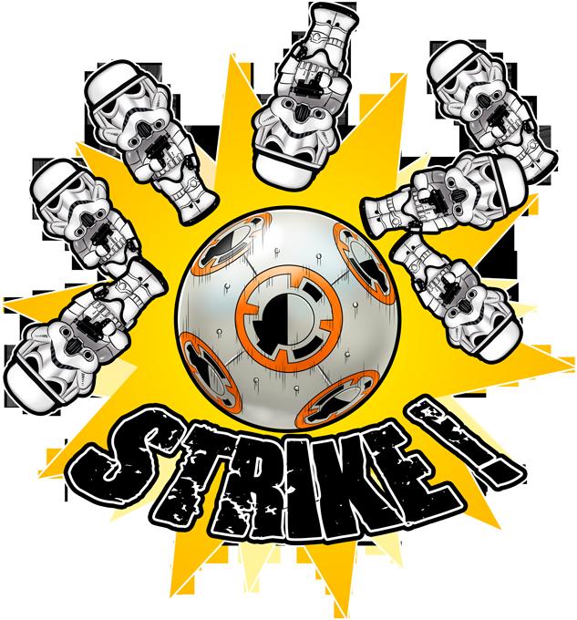 Stormtroopers versus BB-8