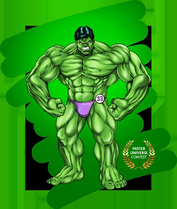 Concours Mister Universe - Les rois de la gonflette - Candidat 33
