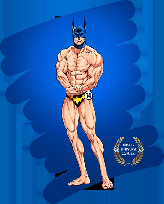 Concours Mister Universe - Les rois de la gonflette - Candidat 74