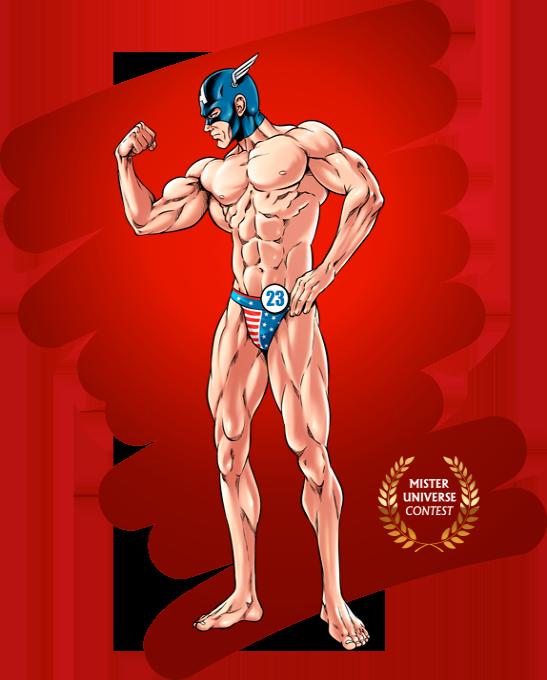 Concours Mister Universe - Les rois de la gonflette - Candidat 23