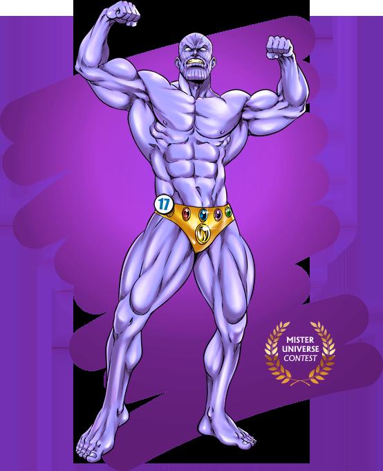 Concours Mister Universe - Les rois de la gonflette - Candidat 17