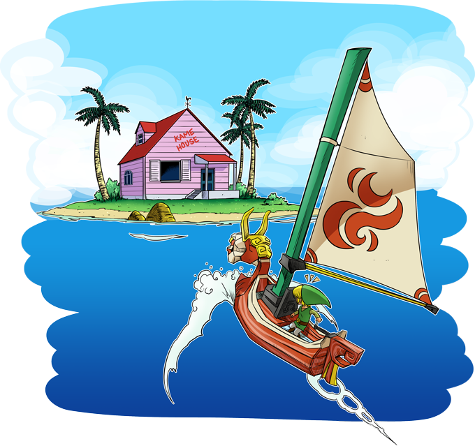 Kame House and Link